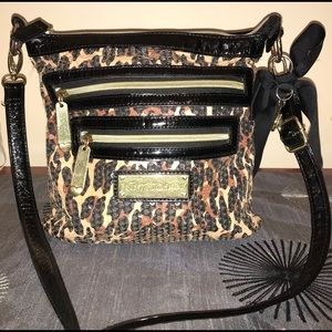 Betsey Johnson leopard Sequin Bag